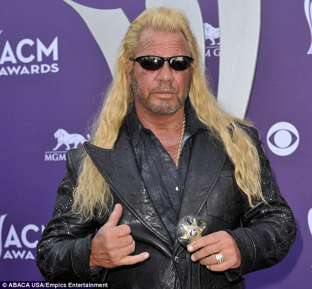 On the hunt: Duane Chapman, aka Dog the Bounty Hunter, is after MMA fighter Jon Koppenhaver