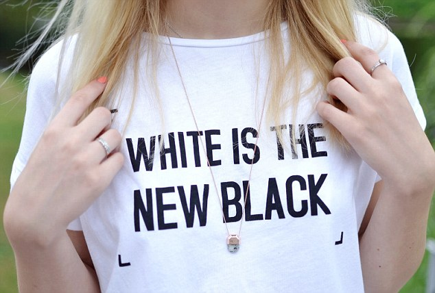 Not so clever lay on words: Zara has come under fire for this T-shirt, which some have interpreted as 'racist'