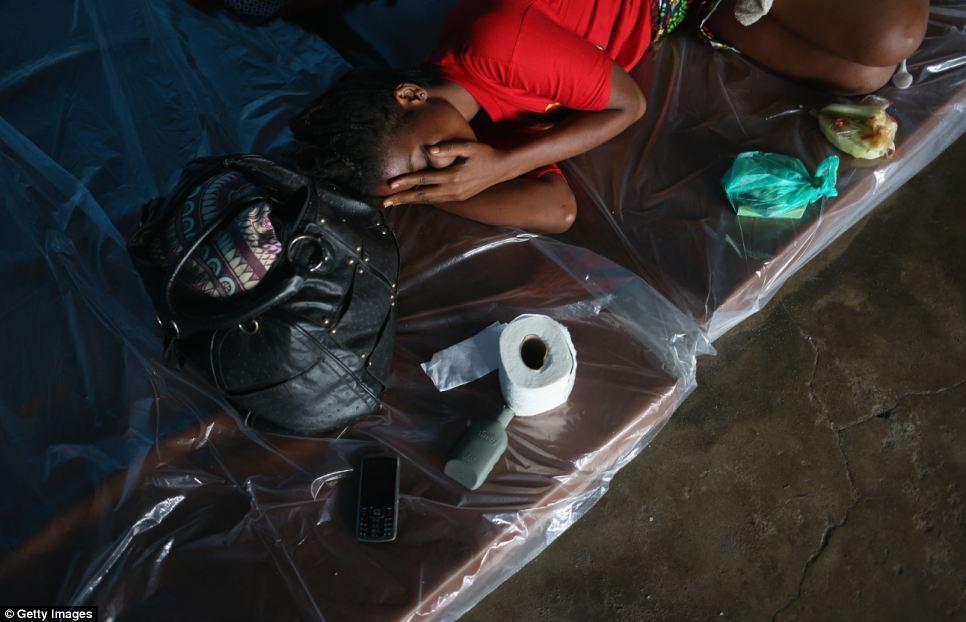 La instalación se construyó para albergar a un número creciente de pacientes con diagnóstico de ébola en tres países de África occidental