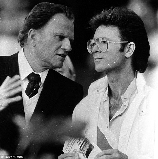 Image result for billy graham and cliff richard