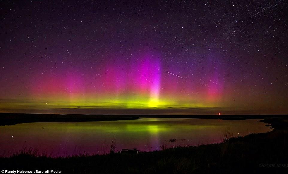 Lights Satellite Northern