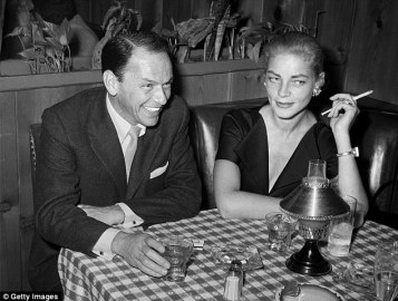 Image result for frank sinatra and lauren bacall