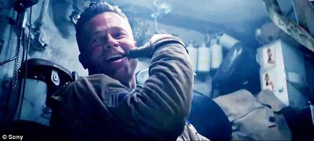 Fury Trailer Sees Brad Pitt Coach Rookie Soldier Before