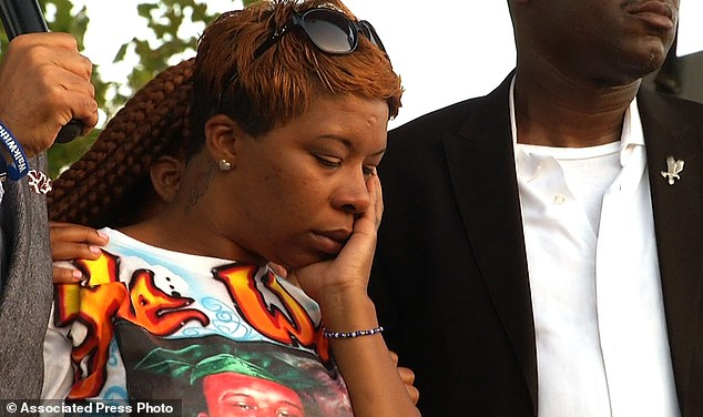 Lesley McSpadden, Michael Brown's mother, appears at Peace Fest, Sunday