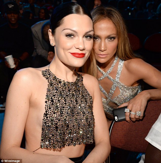 Brit Invasion: Jessie J managed to grab a picture with her idol and posted a gushing message to her