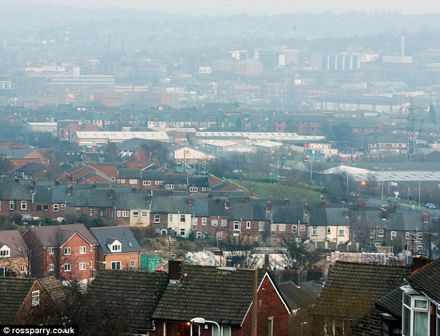 Children as young as 11 were doused in petrol and threatened with fire and told not to speak out in the town (pictured)