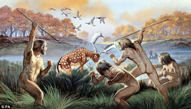 How people hunted animals for food in the Stone Age by mgibson | Steem