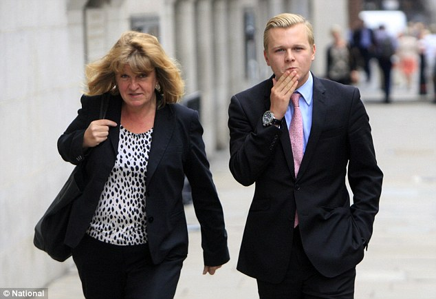 Archie Reed, right, tried to call and text his alleged victim after the incident to explain what had happened