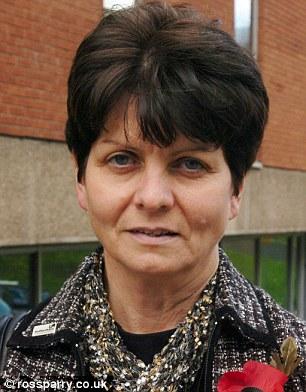 Social services director Joyce Thacker