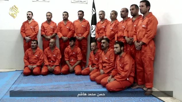 Video of the beheading comes hours after footage emerged of the execution of 300 Syrian soldiers