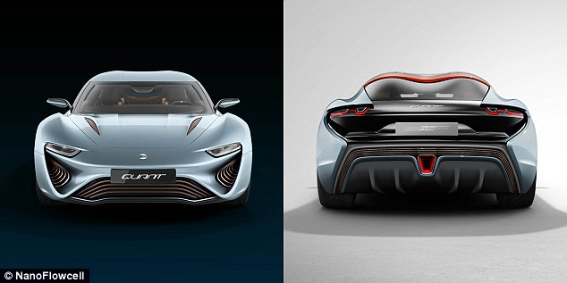 Its drive system allows the 5,070lbs (2,300kg) Quant e-Sportlimousine to reach 0-60 mph (100 km/h) in 2.8s