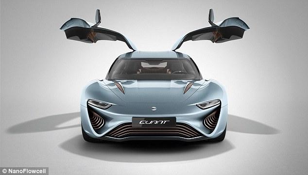 'We've got major plans, and not just within the automobile industry,' says NanoFlowcell AG Chairman of the Board Professor Jens-Peter Ellermann. 'The potential of the NanoFlowcell is much greater, especially in terms of domestic energy supplies as well as in maritime, rail and aviation technology'
