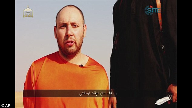 The video footage - depicting what the U.S. called a sickening act of brutality - was posted two weeks after the release of video showing the killing of James Foley and just days after Sotloff's mother pleaded for his life