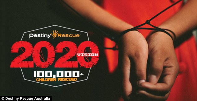 Destiny Rescue is setting a goal of 100,000 rescued children by 2020