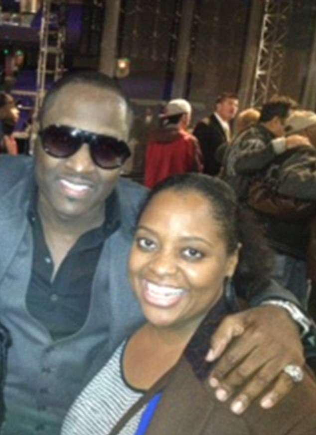 Music to her ears: Sherri Shepherd and Johnny Gill met when New Edition appeared on The View last June