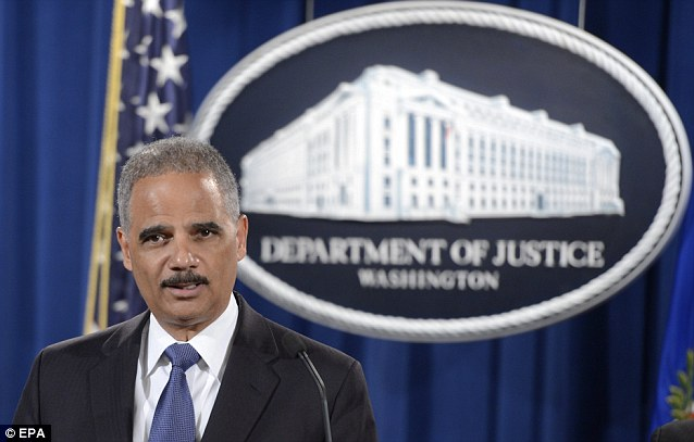 Attorney General Eric Holder told reporters yesterday that the Justice Department's investigation into Trayvon Martin shooter George Zimmerman is 'ongoing'