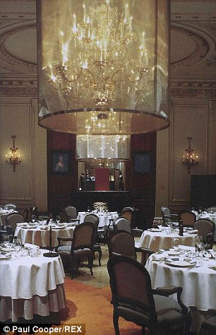 Plaza Athenee restaurant, Paris