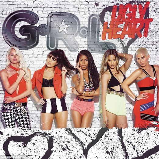 G.R.L. was organized as a reboot of the Pussycat Dolls, but the group eventually decided to go by a different name. From left: Lauren Bennett, Natasha Slayton, Simone Battle, Emmalyn Estrada and Paula von Oppen