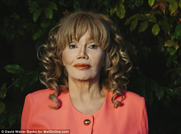 Scarred: In an emotional interview with MailOnline, Karen de la Carriere told of the brutal punishments she endured, often stretching across months, that all but broke her physically and mentally