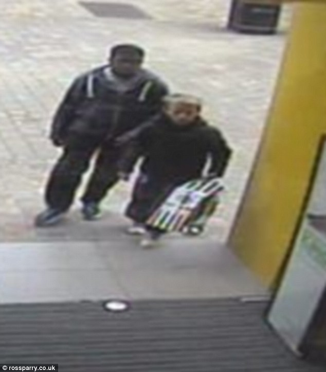 A nine-year-old boy and his 12-year-old accomplice stole an 11-year-old's birthday trainers in Leeds