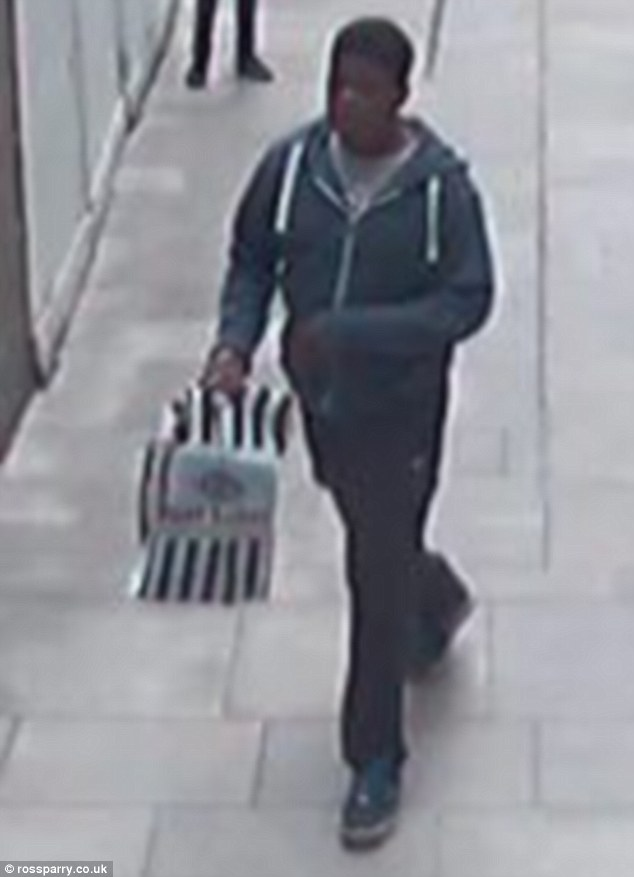 The 12-year-old accomplice  took the bag containing the trainers and the younger boy said he had a knife
