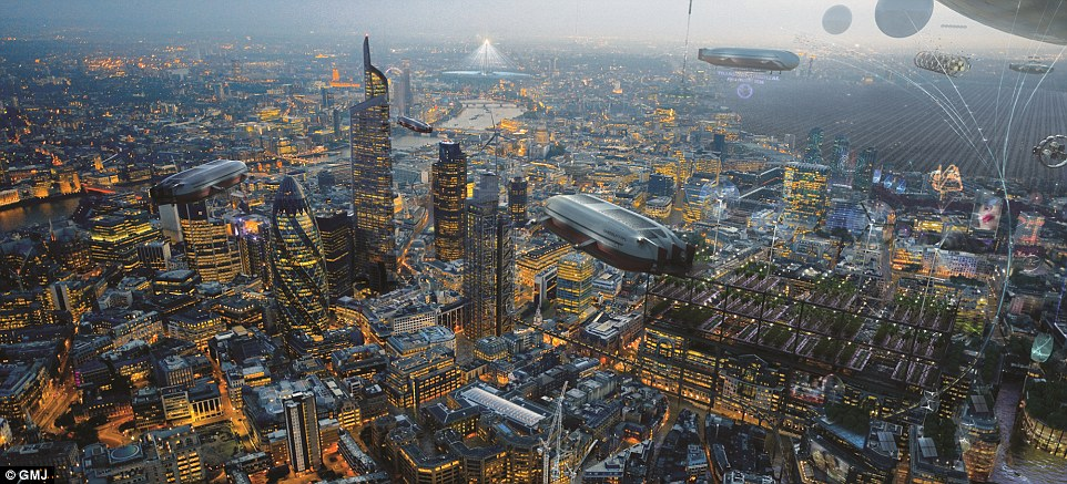 London In 2100 Imagined By Artists After Climate Change