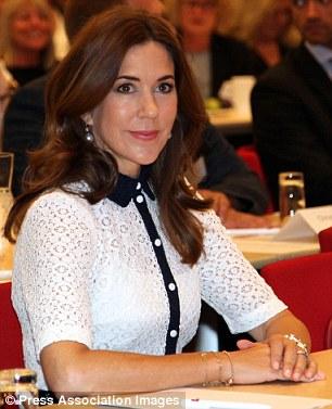 Princess Mary Steps Out On Royal Duties As Husband