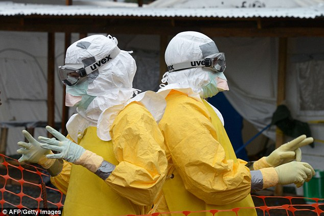 Michael Osterholm of the University of Minnesota said virologists are loathed to discuss their concerns for fear of whipping up hysteria. He said: 'If certain mutations occurred, it would mean that just breathing would put one at risk of contracting Ebola'