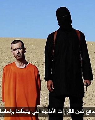 Terrorism: The father-of-two appeared in the video after the beheading of aid worker David Haines (pictured)