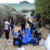 "Two British tourists, raped and murdered in Thai Beach, ""Koh Tao island"""