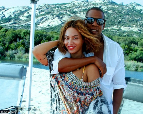 Crazy in Love: Beyonce and Jay Z have reportedly held a commitment ceremony during break in Corsica following months of speculation about the state of their marriage