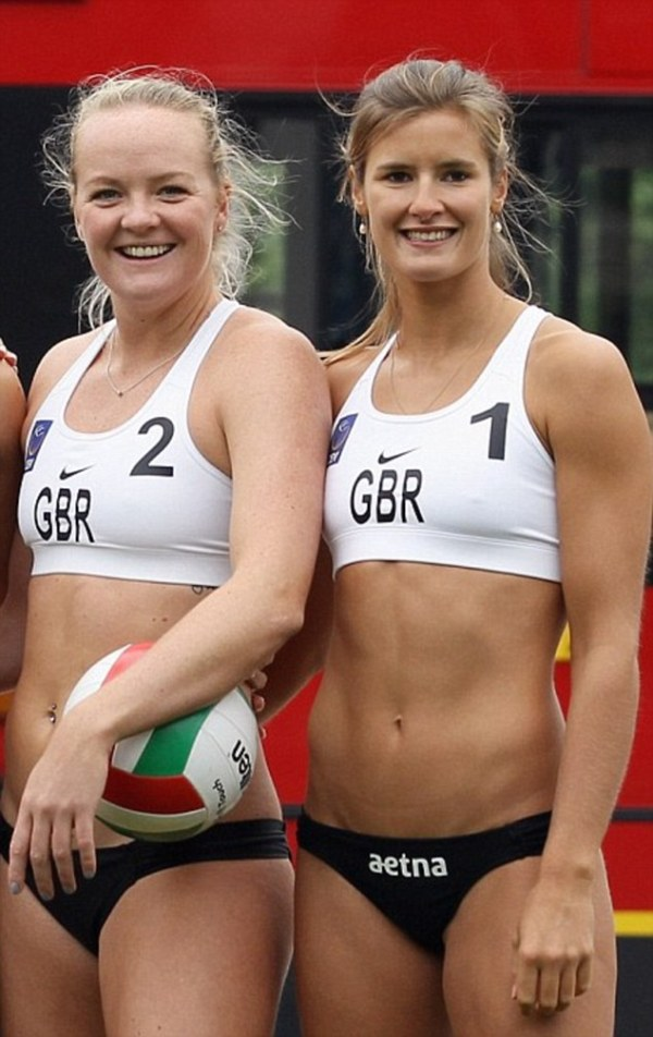 England beach volleyball team launches fitness class that ...