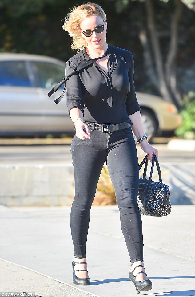 Abbie Cornish Slapped With A Parking Ticket In Hollywood