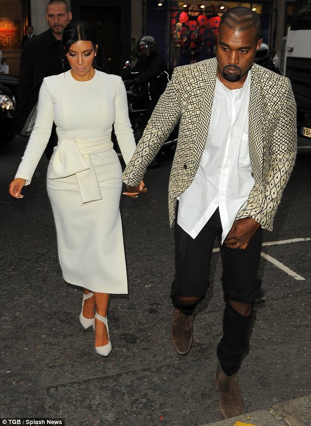 What jet lag? Although Kim and Kanye had only flown in to London from Chicago earlier in the day, they soon hit the town