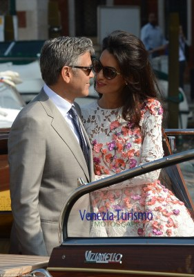 Photos From George Clooney & Amal Alamuddin Wedding Ceremony