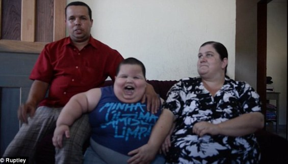 Doctors now believe he may be suffering from Prader–Willi syndrome, a rare genetic condition characterised by a constant hunger and desire to eat