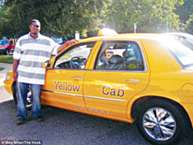 Pictured: Matthew was working as a taxi driver at the time of Morgan's disappearance and would offer lifts for free to girls, according to a source with detailed knowledge of his past. A source told MailOnline: 'LJ got in trouble with work because he would pull up in his cab alongside girls walking along and he would ask random girls'