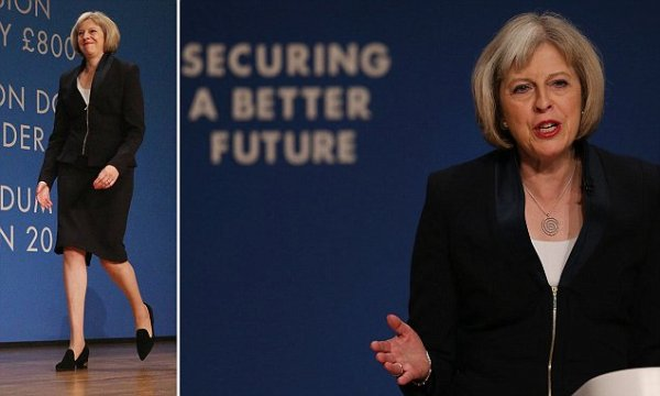 Theresa May echoes Margaret Thatcher in vow to 'face down ...