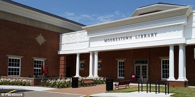 The Latin phrase was translated incorrectly on the Moorestown Library in New Jersey (pictured)