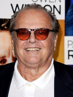 Jack Nicholson told the Daily Mail hat he still occasionally smokes marijuana, and if the government 'were really serious about the economy, there would be a sensible discussion about legalization'