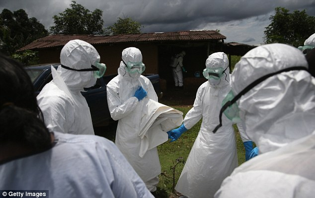 Virus expert Charles L. Bailey said unqualified assurances that Ebola is not spread through the air are 'misleading'