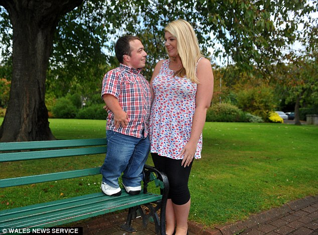 What happened when James Lusted, who stands just 3ft 7in tall, took his fiancee for a romantic meal at a Harvester in Cardiff?