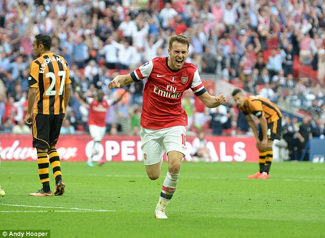 Image result for aaron ramsey v hull