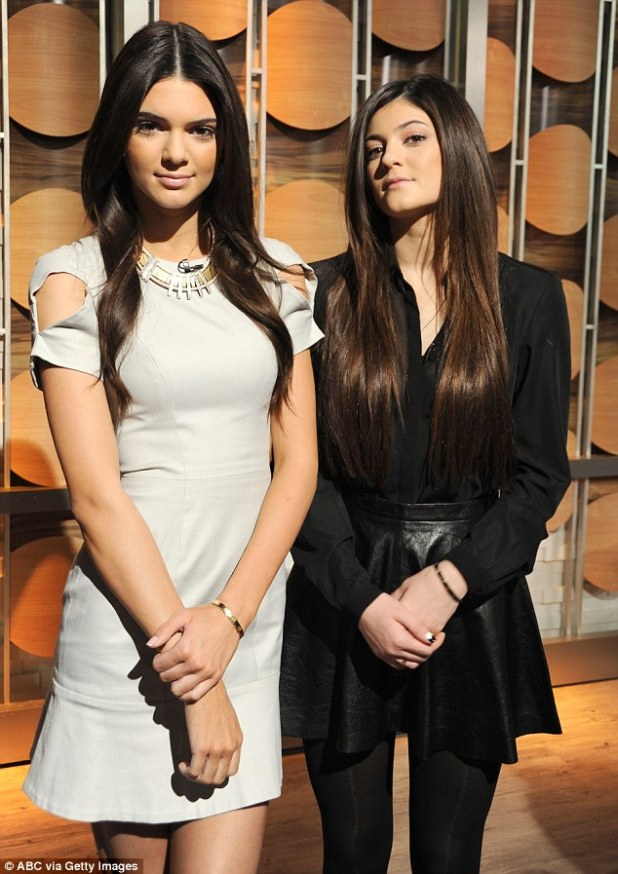 Power players: Kendall and Kylie Jenner were named by Time Magazine as some of 2014's most influential teens and a backlash quickly followed