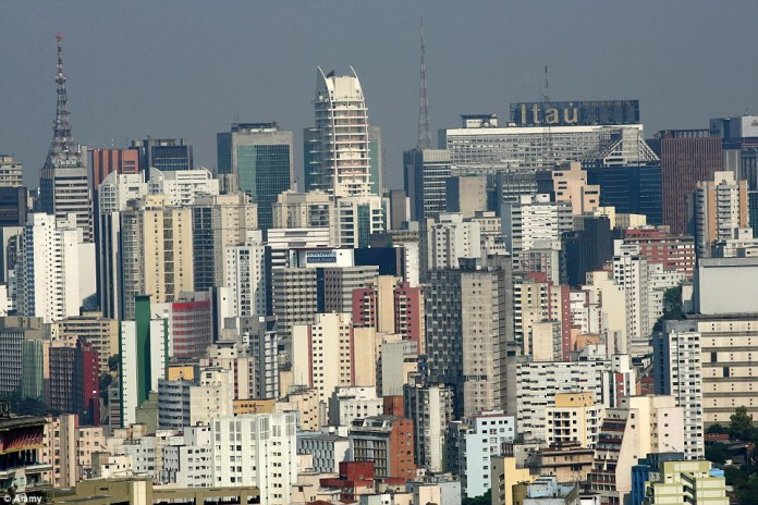 The overcrowded city of Sao Paulo, Brazil regularly experiences massive traffic jams, as well as flooding and blackouts