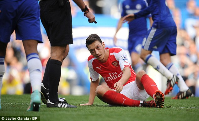 Mesut Ozil has been accused of cheating on girlfriend Mandy Capristo by ex-Bayern player Christian Lell