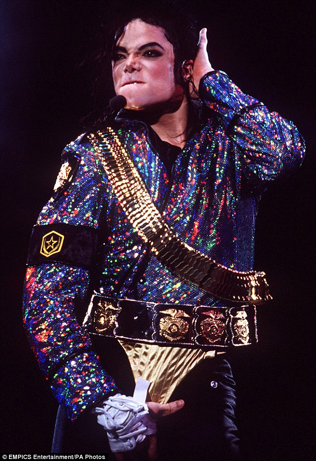 Sitting on the throne: Prince of Pop Michael Jackson beat off Elvis Presley to be the world's top earning dead celebrity of 2014