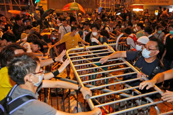 Hong Kong police arrest 26 amid street clashes | Daily ...
