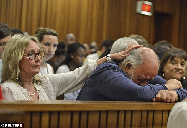 June Steenkamp and her husband Barry have spoken of their distress at being forced to watch the details of their daughter's death. Now daughter Simone has said the family want a jail sentence for Pistorius
