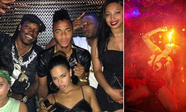 Liverpool's Raheem Sterling partied at Cirque le Soir ...